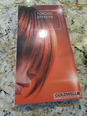 goldwell topchic effects color swatch book intense highlight color