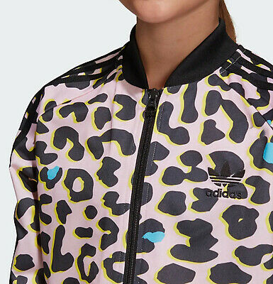 Girls Adidas Originals LZ Leopard tracktop Pink SST Superstar ages 11- 15 NEW