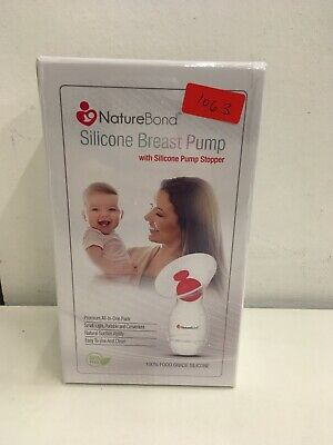 Nature Bond Silicone Breat Pump Sealed New In Box
