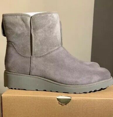 Ugg Kristin 1012497 Grey Woman's Boots Size 6, Water-Resistant/ Authentic/ New
