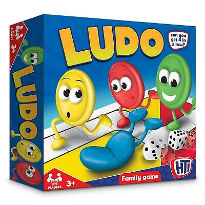 Toys Traditional Games Ludo Family Board Game Set