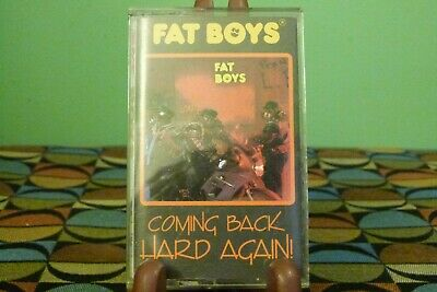 Coming Back Hard Again by The Fat Boys (Cassette, Jul-1988 Mercury) EX Condition
