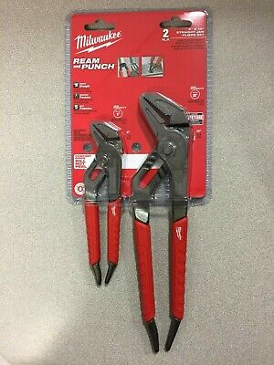 Milwaukee 48-22-6330 REAM & PUNCH 6 and 10 in. Forged Alloy Steel Straight Jaw P