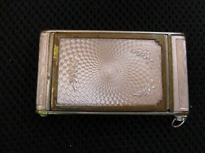 Girey Ladies Compact with Lipstick Holder Pink