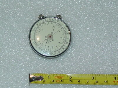 Vintage Collectible USSR Round Mechanical Logarithmic Logarithm Ruler