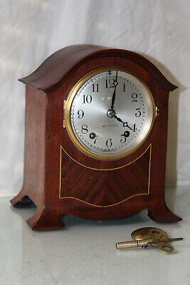 "ANTIQUE SETH THOMAS CABINET SHELF MANTLE CLOCK-Totally!-Restored- ""CHATEAU-1921"""