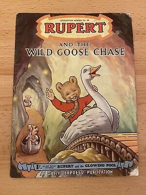 Rupert And The Wild Goose Chase - Daily Express No.20 - Full Colour 50s Magazine