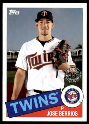 2020 Topps Series 1 1985 #85-62 Jose Berrios - Minnesota Twins