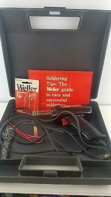 Weller 8200 N 120 Volt 100/140 Watts Universal Soldering Iron Gun Kit w/Case