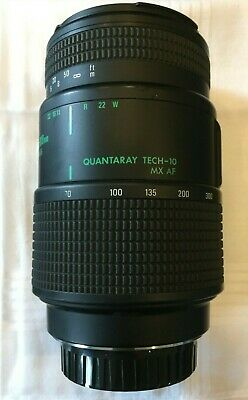 QUANTARAY TECH-10  MX AF 70-300 mm for Minolta 1:4-5.6