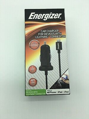 ENERGIZER CAR CHARGER For Devices With Lightning Connector