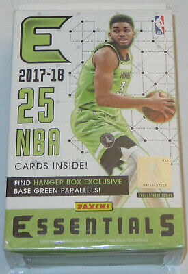 2017/18 Panini Essentials NBA Basketball 25-Card Hanger Box PACK ONLY - Save $$$