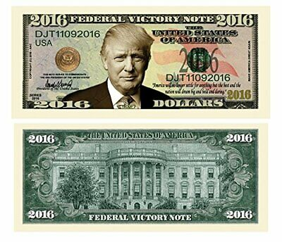 Pack of 50 - Donald Trump 2016 Federal Victory Limited Edition Presidential