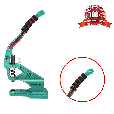 Hand Press Green Machine with Foam Gripper Handlebar Cover for DIY Leathercrafts