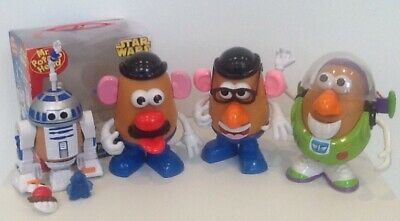 Mr Potato Head Bundle-R2D2-Buzz Light Year-2 Mr Potato Heads.