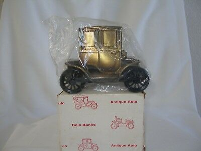 1910 Baker Electric Coin Bank Car - Banthrico Co. - USA Made - Die Cast Auto