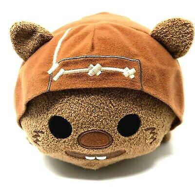 "Disney Store Star Wars WICKET EWOK 11"" Brown Tsum Tsum Plush Retired Medium"