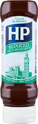 HP Brown Sauce Reduced Salt & Sugar (4x450g)