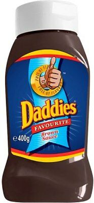 Daddies Brown Sauce Squeezy (4x400g)
