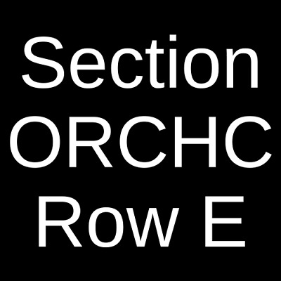 4 Tickets Hadestown 2/29/20 Walter Kerr Theatre New York, NY