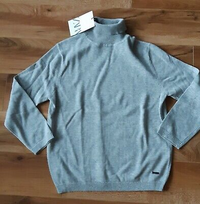 *BNWT* Zara Boys Grey Lightweight Jumper Top Age 5-6 6-7 Years