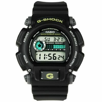 Casio DW9052-1B, G-Shock Chronograph Watch, Resin Band, Alarm, 200 Meter WR