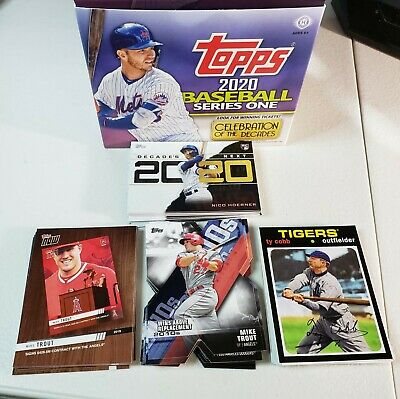 2020 Topps Series 1 Decade Dominance Next Choice Now Inserts Compete Your set