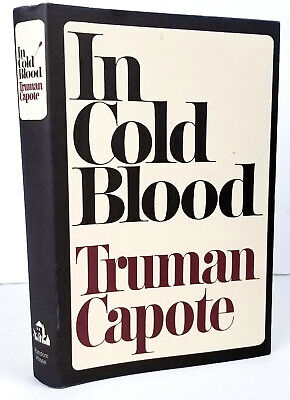 In Cold Blood, Truman Capote, 60th Anniversary Book Club Edition, Hardcover NEW