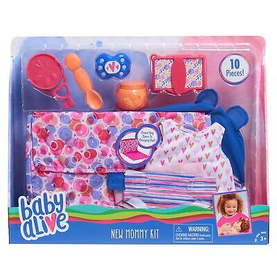 Baby Alive New Mommy Kit with diapers for Dolls Accessories,