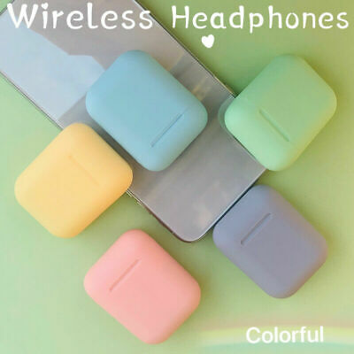 2020 Wireless Bluetooth Earbuds with Charging Case For iPhone Android Pods Color