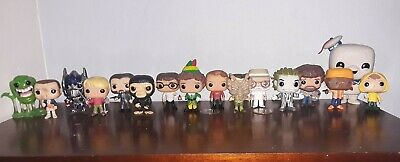 FUNKO POP MOVIES Ghost Busters, John wick Stranger Things ++ LOT OF 21 Figures