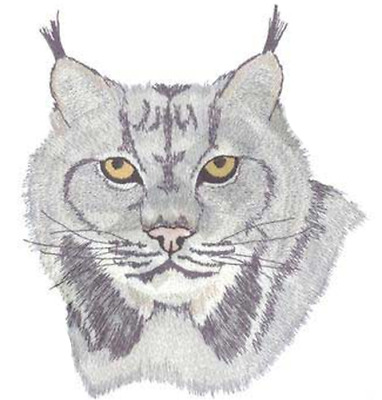 """Lynx Wildcat Emboidered Patch 6.6"""" x 7.6"""" FREE USA SHIPPING"""