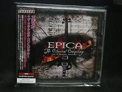 EPICA The Classical Conspiracy JAPAN 2CD Delain After Forever Karmaflow Sahara