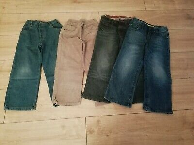 Boys Jeans Cords Bundle Aged 4-5 Years Next