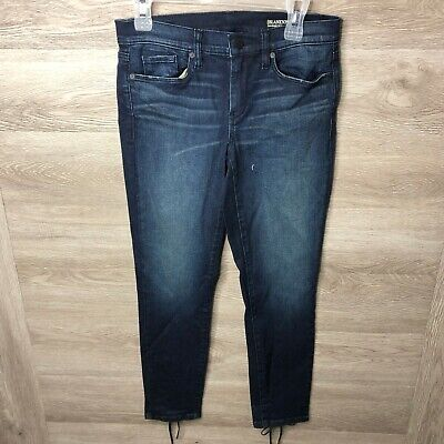 Blank NYC Womens 27 The Reade Crop Relaxed Jeans NWOT NEW