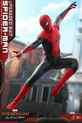 Hot Toys 1/6th Spider-Man (Upgraded Suit) Spider-Man Far From Home Figure MMS542