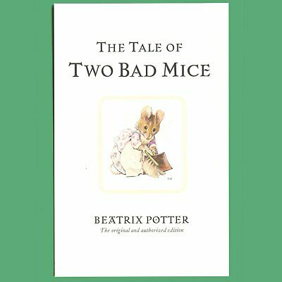 Beatrix Potter Themed Postcard NEW The Tale of Two Bad Mice #1
