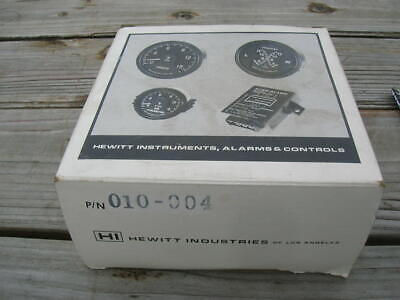 """3"""" Hewitt Pyrometer Gauge 010-004 Kit - New complete kit - Thermocoupler - wires"""