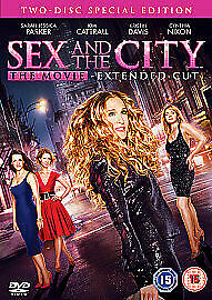Sex And The City - The Movie (DVD, 2008, 2-Disc Set)(JD26)