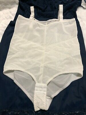 Vintage Another Youthful Creation Girdle Shaper Over Shoulder Straps Size 36