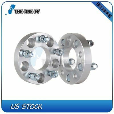 """2Pcs 1"""" 5x4.5 1/2"""" 70.5mm Wheel Spacers fits 1982-2005 2004 2003 Ford Bronco"""