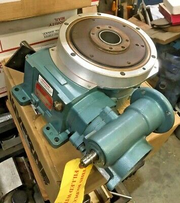 CAMCO 3 Stop Rotary Indexing Table W/ 30:1 Gear Reducer 601RDM3H24-330