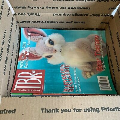 Lot of Retro Doll and Teddy Bear Magazines, Assorted Titles, Patterns Included