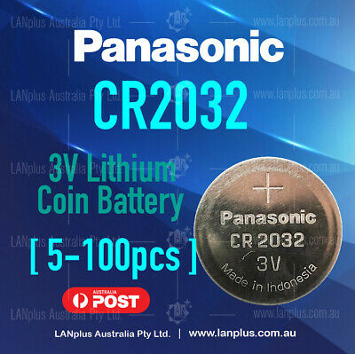Panasonic 3v CR2032 CR 2032 lithium coin button battery industrial pack