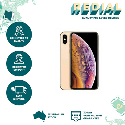 Apple iPhone XS Max - 512 GB - Gold (Unlocked) A2101 FAIR CONDITION