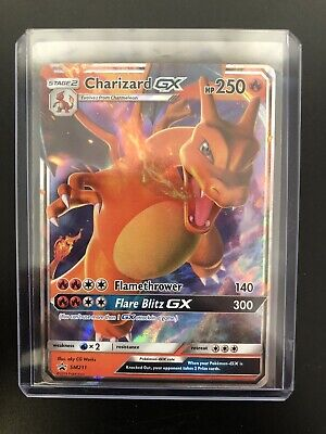 Pokemon Card   CHARIZARD GX   Ultra Rare  PROMO  SM211  HIDDEN FATES  *MINT*