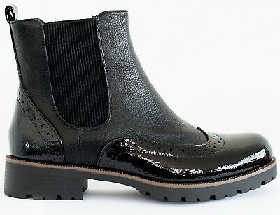 New Womens Ladies Ankle Zip Flat Work School Combat Winter Miliary Shoes Boots