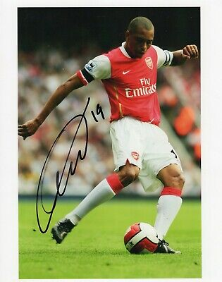 Gilberto Silva Autograph, Arsenal Football Club
