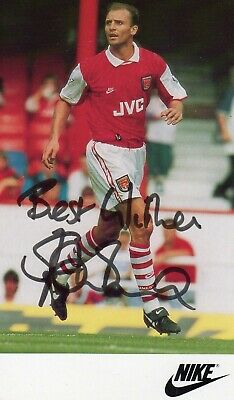 Steve Bould Autograph, Assistant Manager, Arsenal Football Club