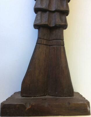 Antique Medieval carving Knight Statue sculpture knights folk art hand Carved